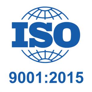 ISO9001:2015 certificering